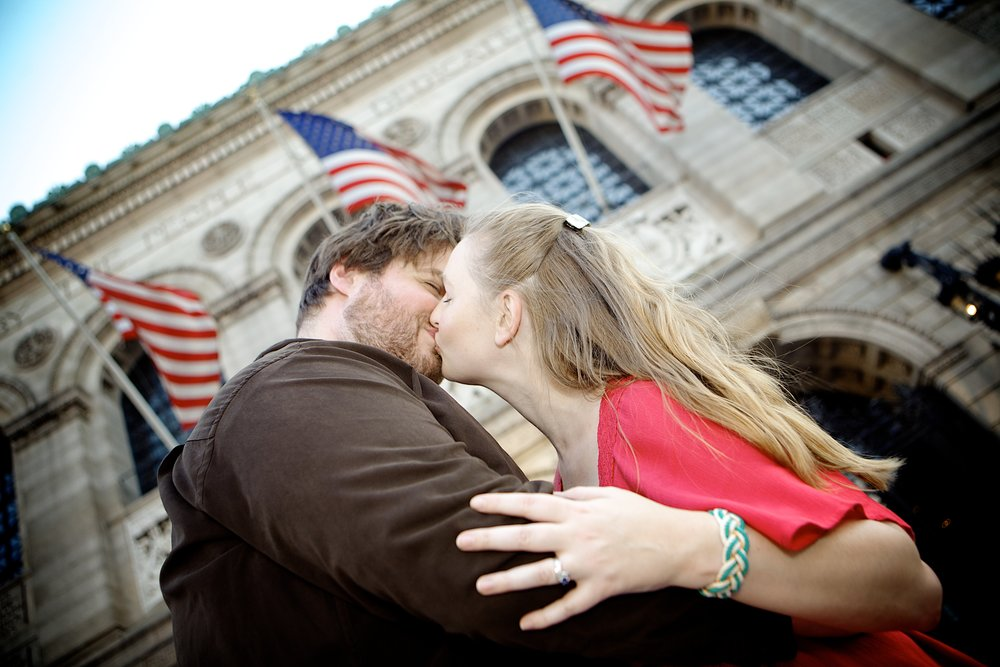 Ethan + Robyn | Boston Public Library, Boston Ma