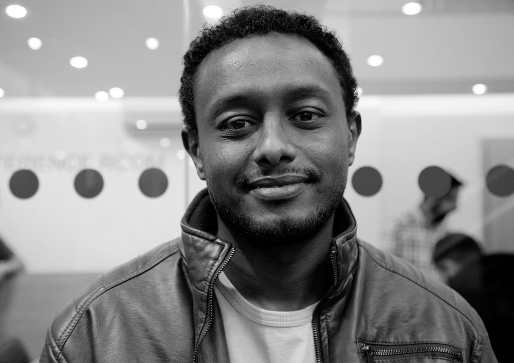 "London, United Kingdom – 9 October 2016. ""My name is Sentayhu and where I come from in Ethiopia it means 'one who has seen a lot'."""