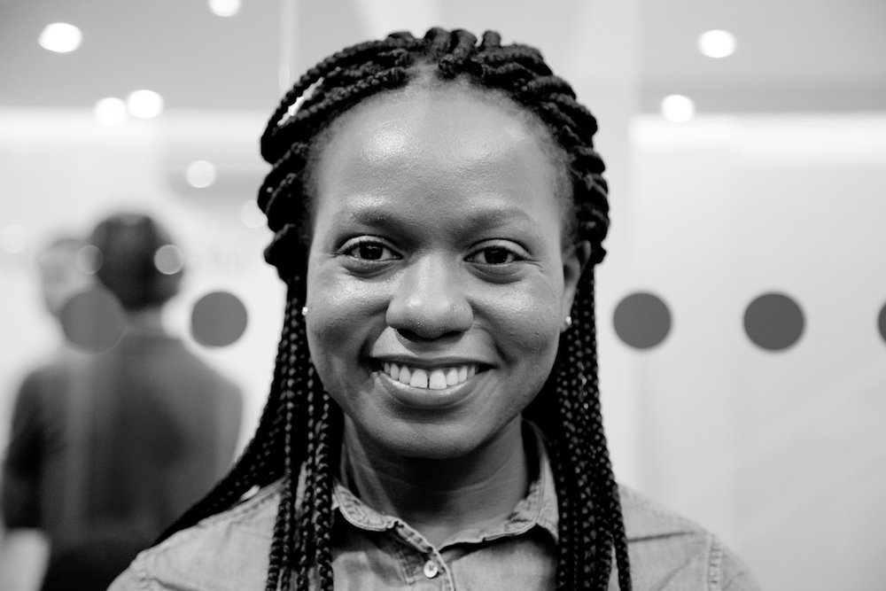 """London, United Kingdom – 9 October 2016. """"I come from Uganda. I am part of Room to Heal [a group which supports refugees who have survived torture and other forms of organised violence]. They put me in touch with the Helen Bamber Foundation who suggested that I apply to this program and everything went from there. We had to create a webpage to get in. You needed to put a lot of work into it and look everything up yourself. I did mine on Albert Einstein."""""""