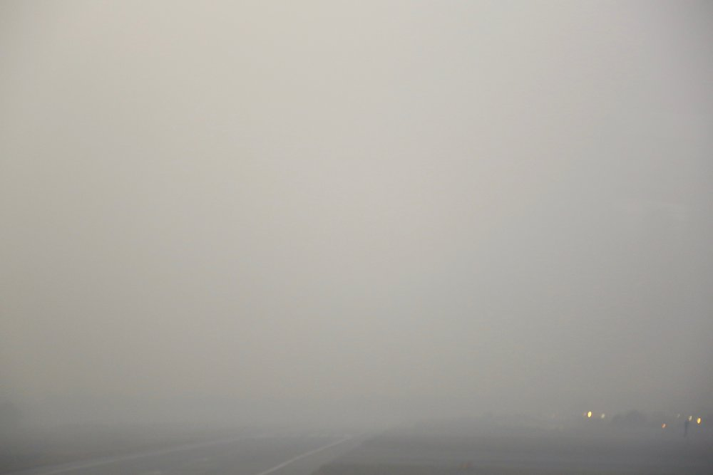 Hundreds of flights are regularly affected due to low visibility. (Indira Gandhi International Airport, Delhi)