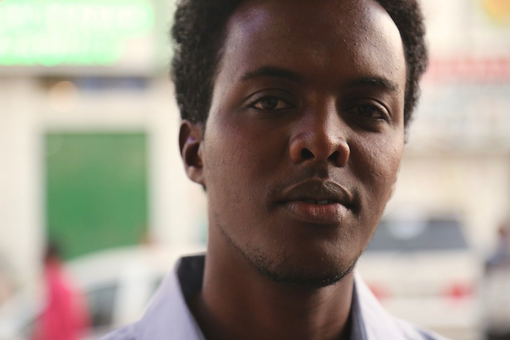Khadar, 23, has been challenging men to speak out against FGM in Hargeisa, Somaliland. Photograph: Alice Rowsome