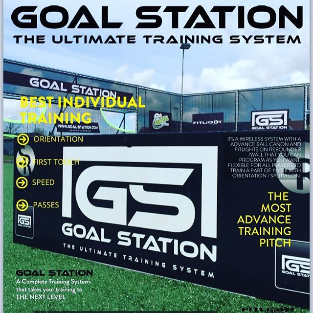 This is next level @goal.station @soccerrebounder @fortunahjorring #champions #thedouble #individual