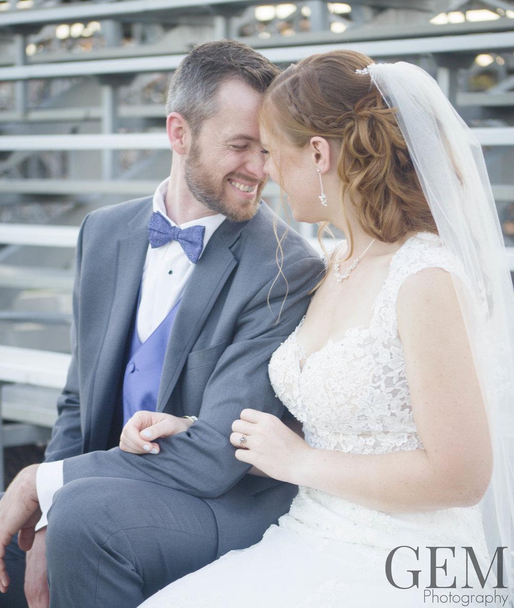 Bushnell park carousel wedding dress