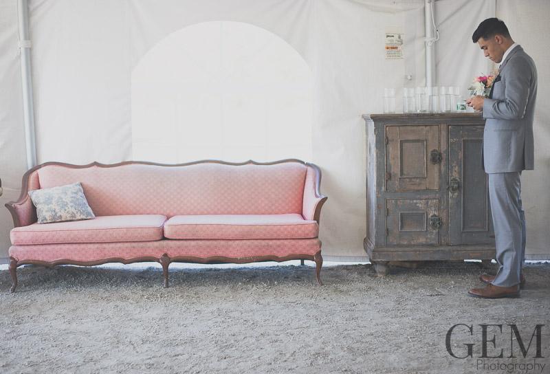 farm wedding furniture