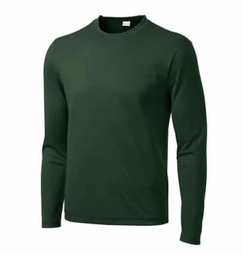 Long Sleeve Custom Athletic Shirt