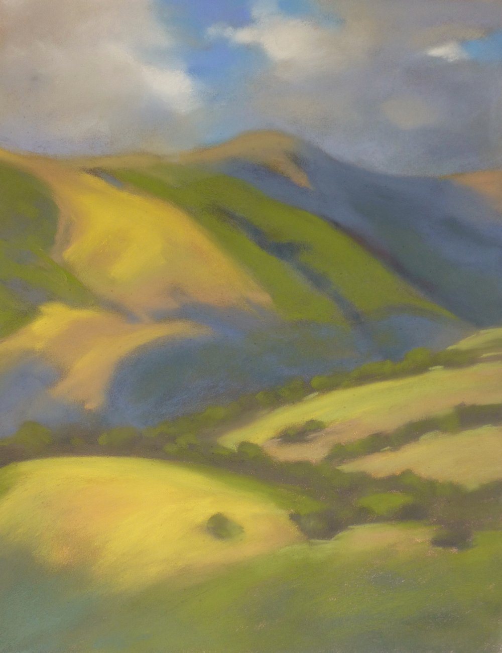 Changing Seasons | Pastel on Copper, 14 x 18 in | 25.25 x 29.5 in framed | $1,300