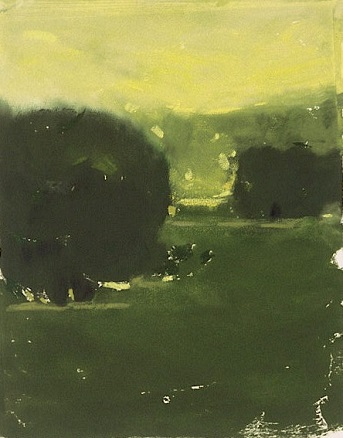 Yellow Light | Monotype, 8 x 10 in | $700