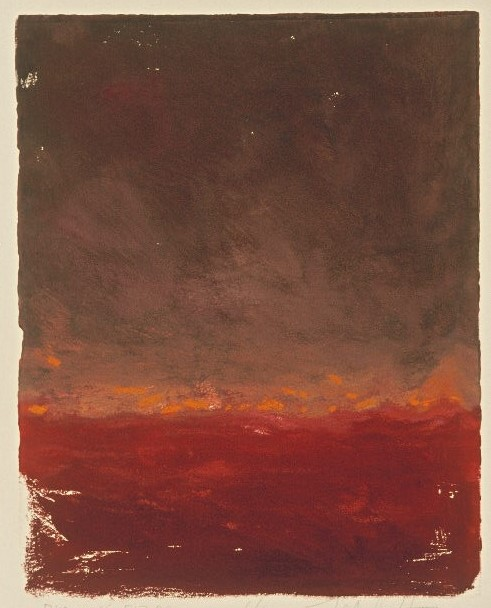 Burning Fields | Monotype, 8 x 10 in | $700