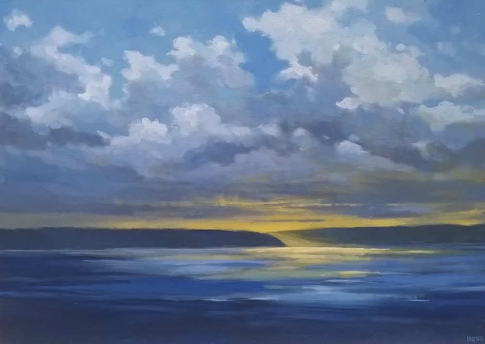 Light Passage | Acrylic on Canvas, 42 x 30 in | $3,500