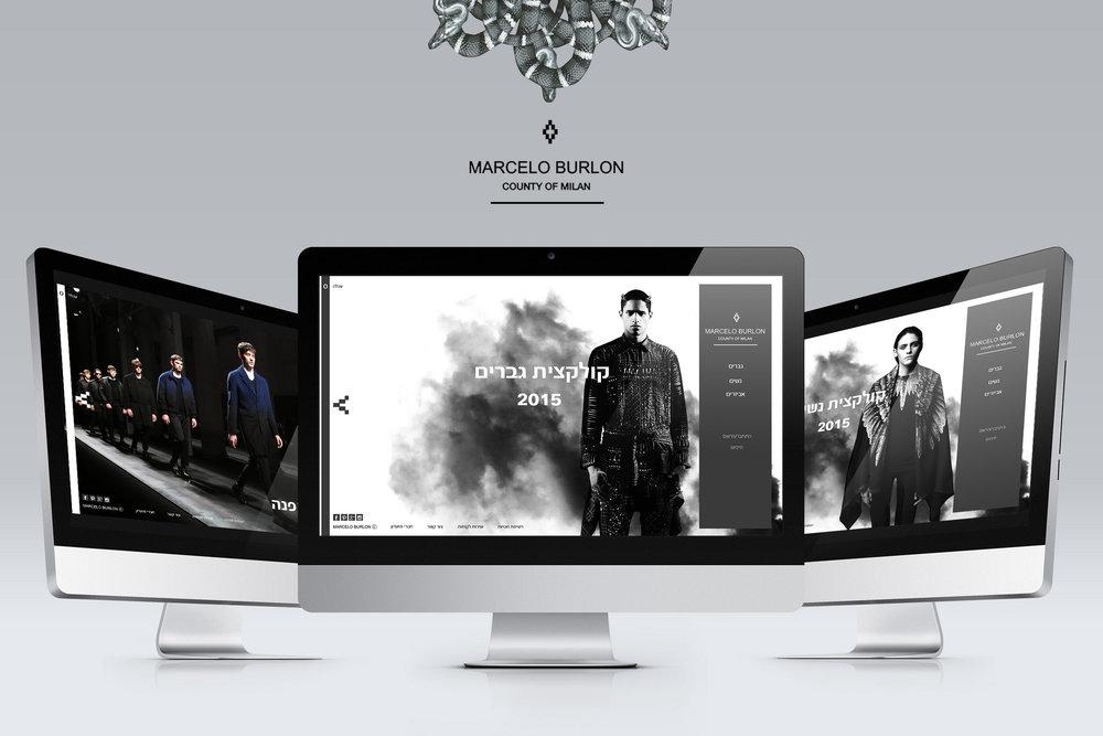עיצוב אתרים ״מרסלו בורלון״