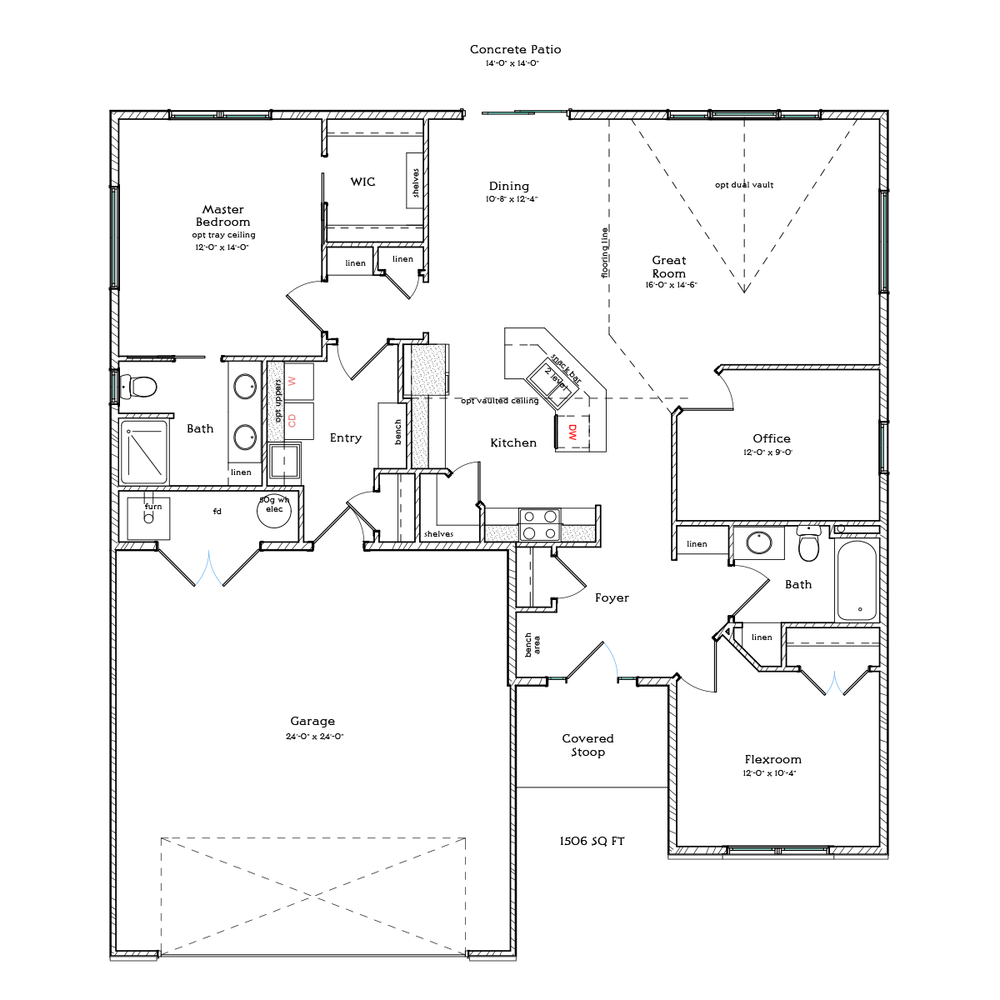Floor Plans Berscheid Builders – Charleston Homes Floor Plans