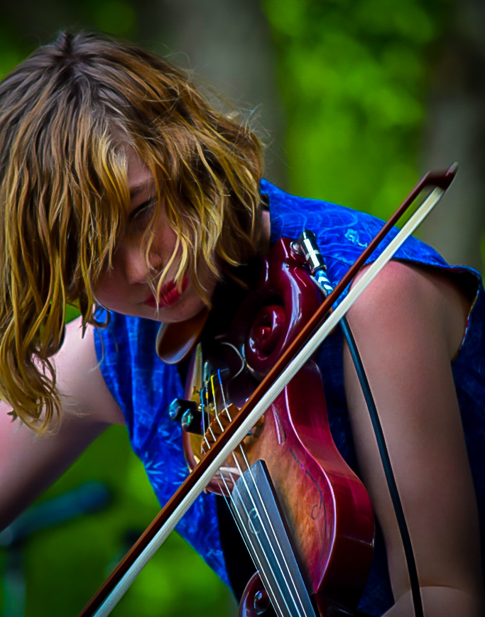 Michigan Music Band The Accidentals Playing The Electric Violin