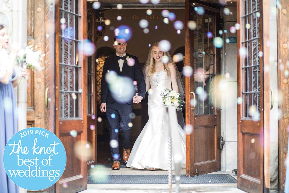 CDP Michigan Wedding Bride Groom Grand Bubble Exit.jpg