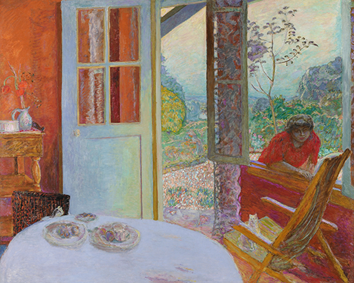 Pierre Bonnard Dining Room in the Country 1913