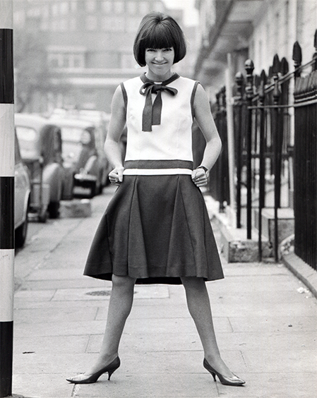 Mary Quant by Vic Singh, 1961