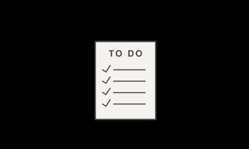 imparted checklist icon