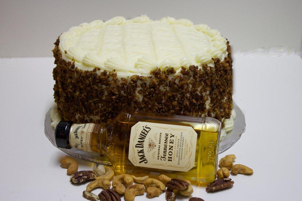 Jack Daniels Honey Whisky Velvet Cake