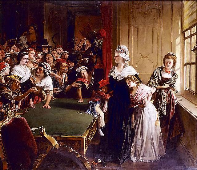 Marie Antoinette döms till döden 1793 och avrättas dagen efter.