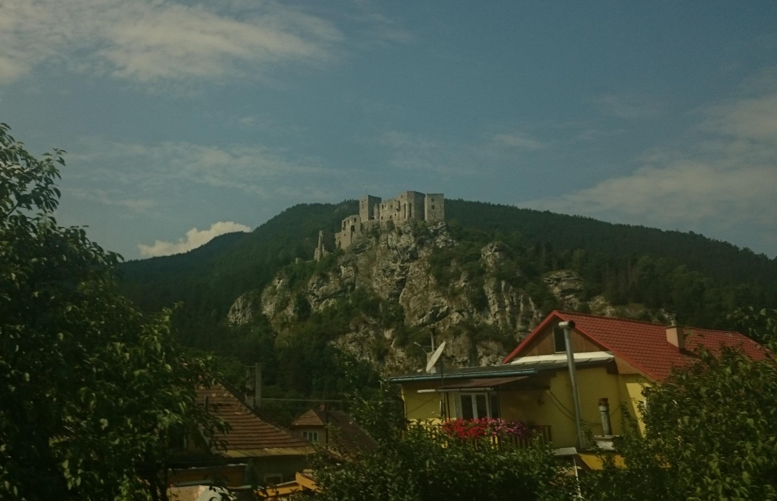 slott från tåg