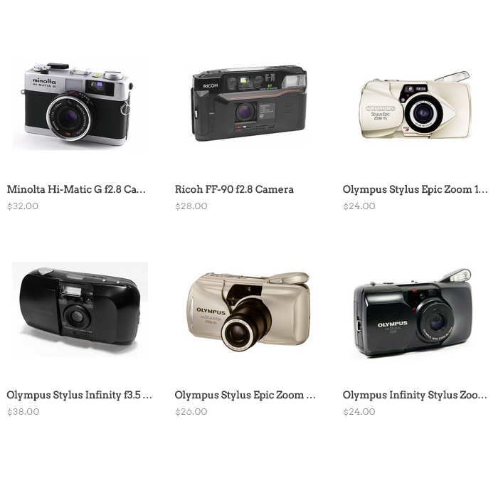 A new batch of cameras went up in the store last night, only a few left::   NIGHTED.Storenvy.com