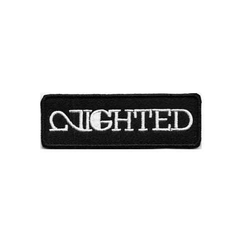 1″ x 3″ mini iron on patches out now at NIGHTED.Storenvy.com