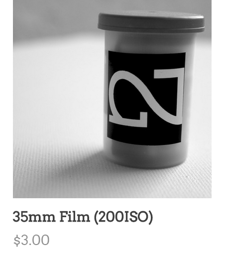 Just posted some unexpired Fuji 200 film for $3:: NIGHTED.Storenvy.com