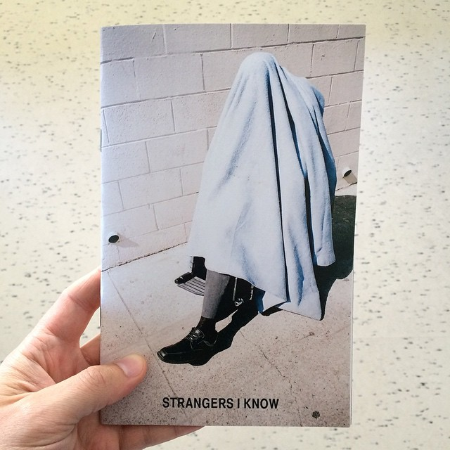 "Making the zines for our group show ""Strangers I Know"" opening this Saturday in Denver at Dateline Gallery¡¡    The remaining copies of the zine will go up online 3/1."