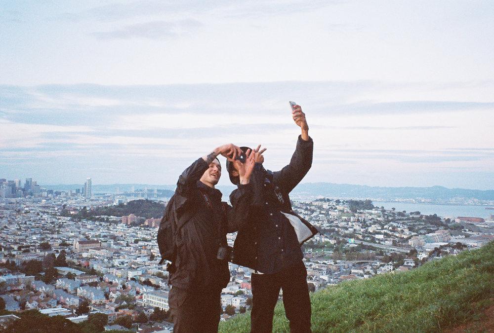 kebleier: boys i don't know selfie