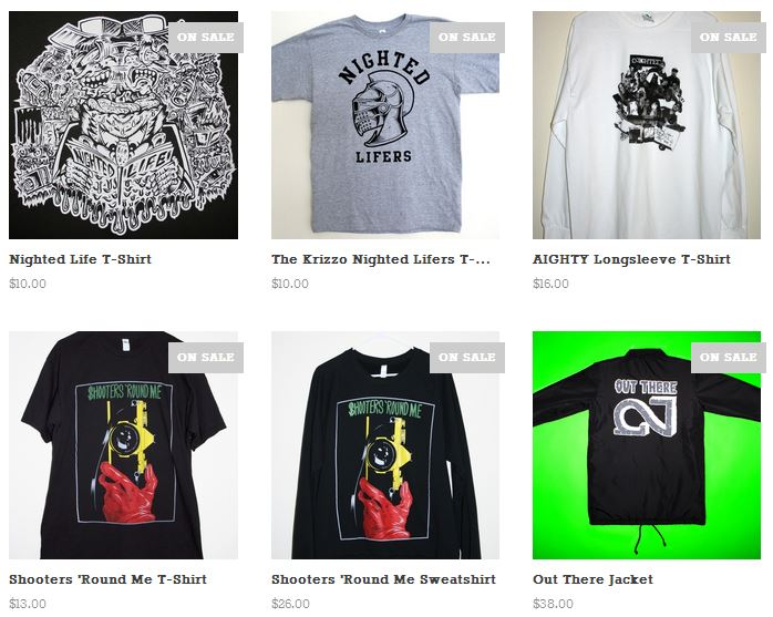FYI there are only a few sizes left if you wanna get a deal  NIGHTED.Storenvy.com