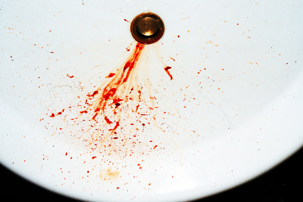 jaredgaustad :      BLOOD I BLED