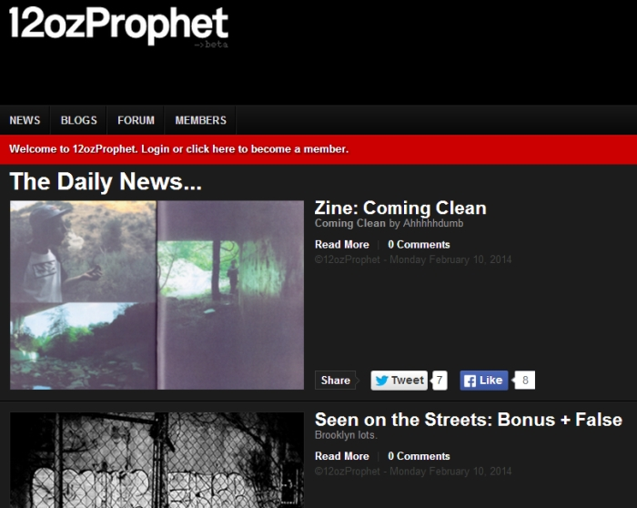 Very thoughtful review of our zine Coming Clean by Ahhhhhdumb up on 12 ounce:: http://www.12ozprophet.com/news/zine-coming-clean