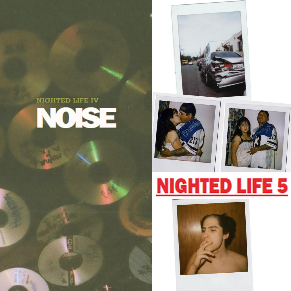 NIGHTED Life 4:NOISE  (music issue) and  NIGHTED Life 5  (instant issue) are up for preorder now!   Each issue is limited to 40 copies. You can also get em both as a set with some extra goodies:   NIGHTED.Storenvy.com