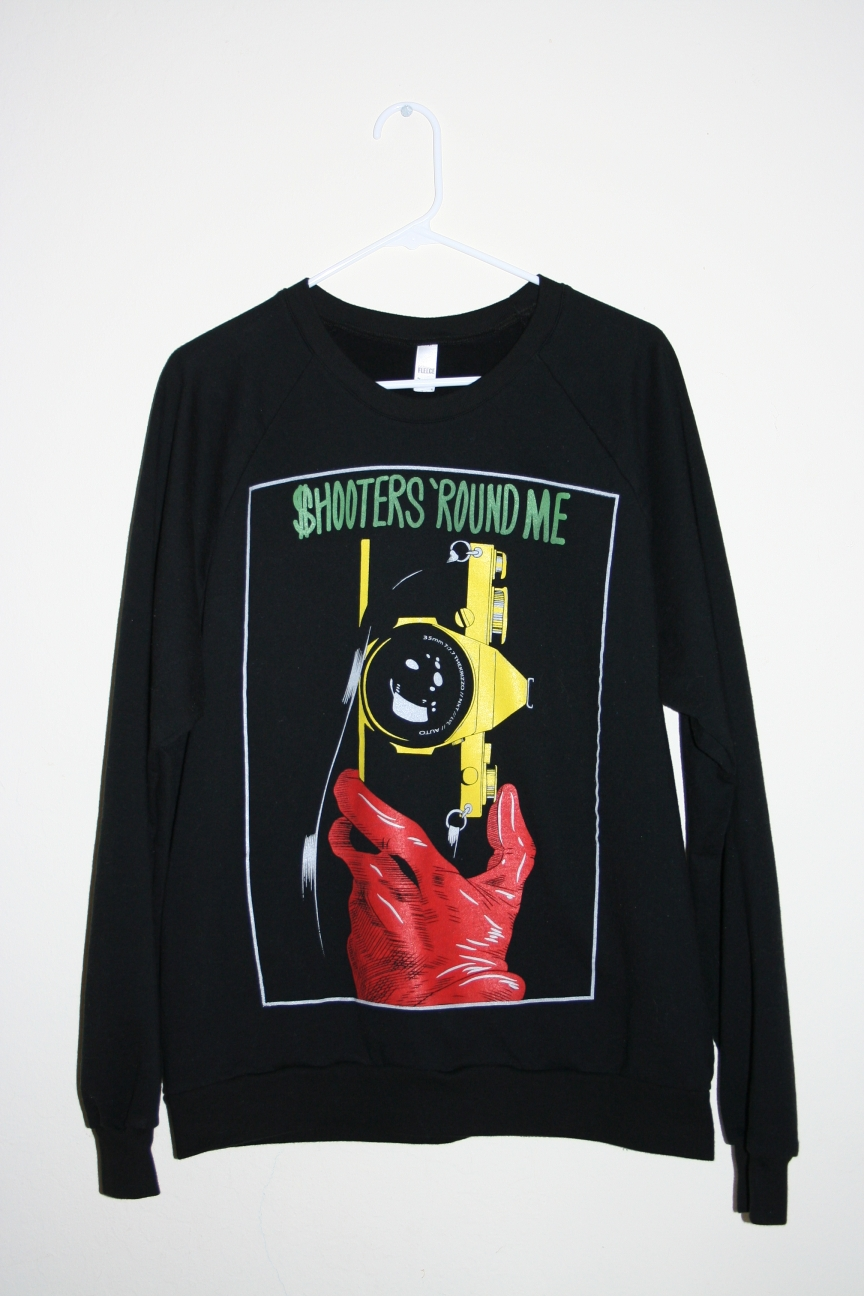 The   Shooters 'Round Me crew necks   are down to the last few sizes and on sale!