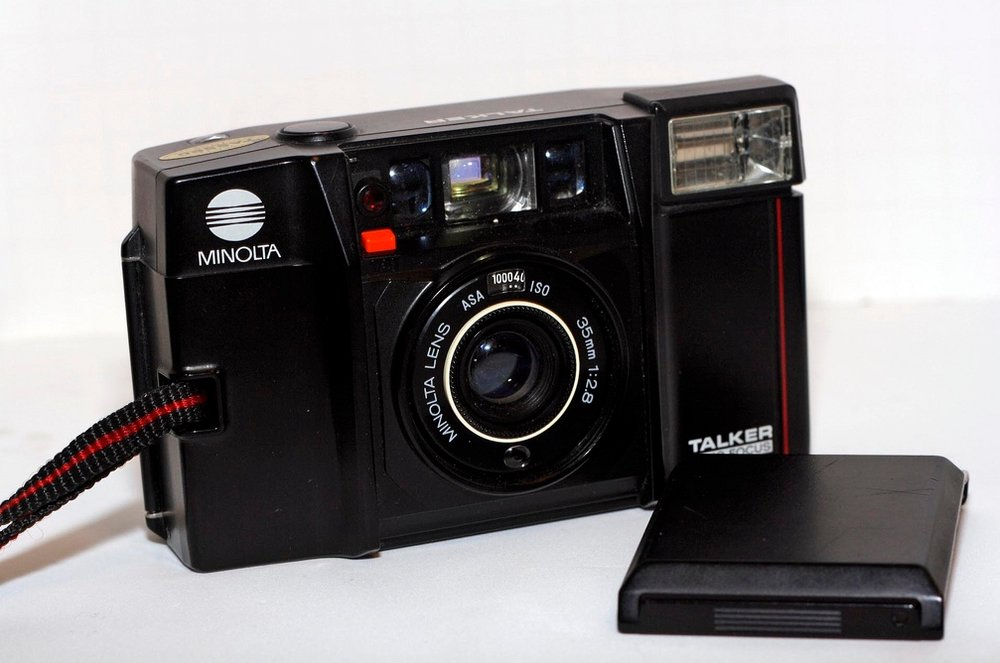 We got some   Minolta Talker Cameras   in the NIGHTED Store!