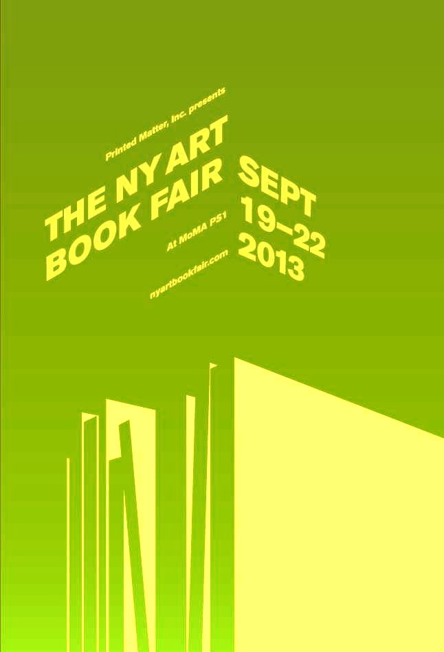 The New York Art Book Fair starts tonight- NIGHTED is out there at the PaperWork NYC booth!   September 20–22, 2013  Preview: Thursday, September 19, 6-9pm   MoMA PS1    It's free! It's the shit!