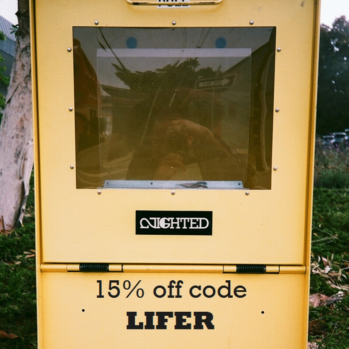 ** 15% off with the code LIFER from now until 9/13! ** NIGHTED.Storenvy.com