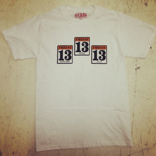 notonmyblock: TRIPLE HEADER SHIRT NOW UP IN THE BODEGA GRAB IT HERE LIMITED RUN