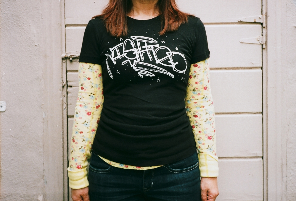 Catch my momma in her   NIGHTED Handstyle Shirt