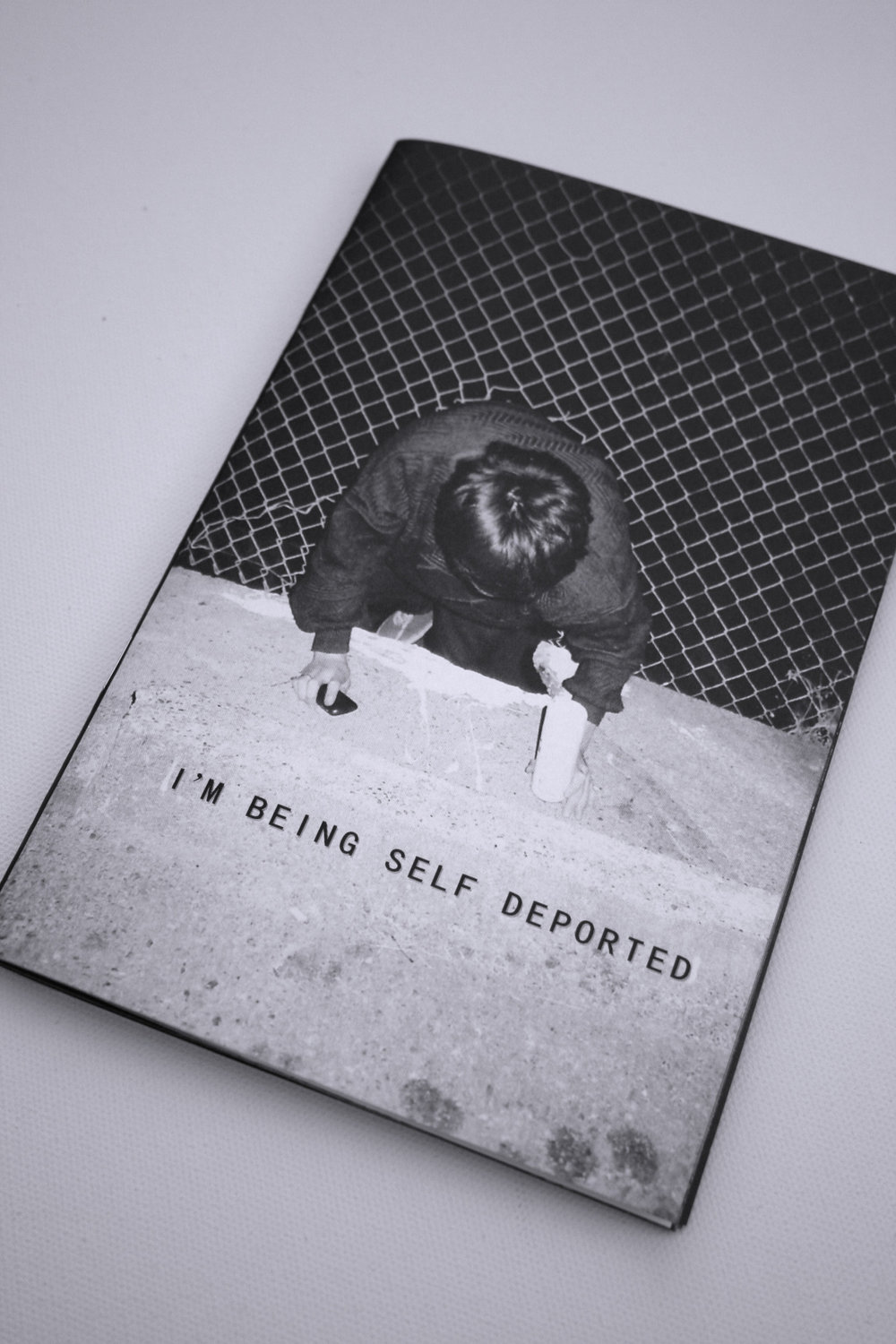 AIGHTY's zine, I'm Being Self Deported is about to sell out- grab one while you can.