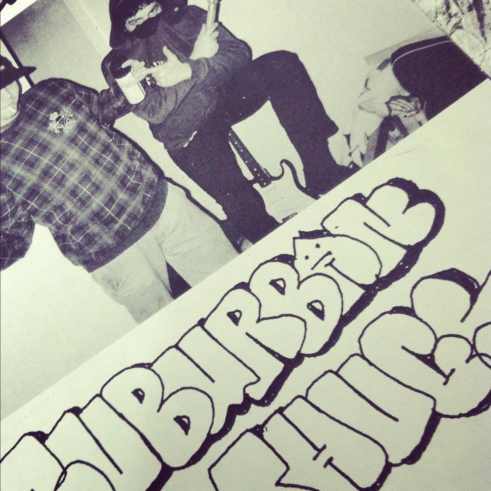 New zine Suburban Thugz by Nicky Crucial drops tomorrow!