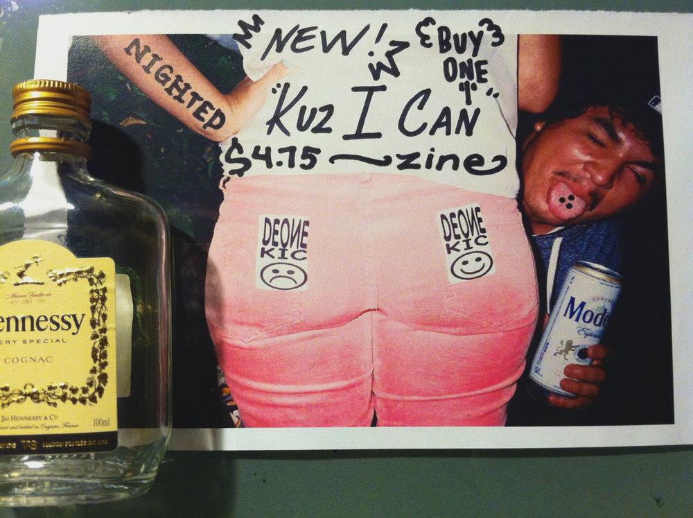 Kuz I Can Zine