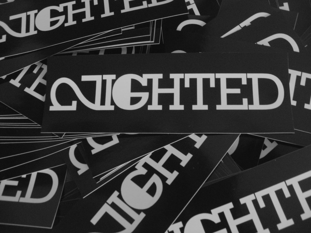 New Nighted Sticker 10-Sacks: Vinyls Nighted Lifer handmade originals Photos Rare blanks Pick one up at the Nighted Store!
