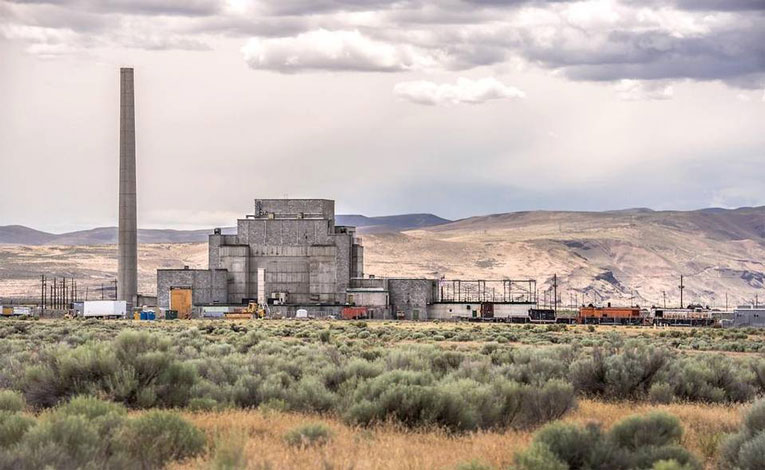Hanford's historic (1943) B Reactor is part of the Manhattan Project Historical National Park.  Courtesy TRIDEC  .