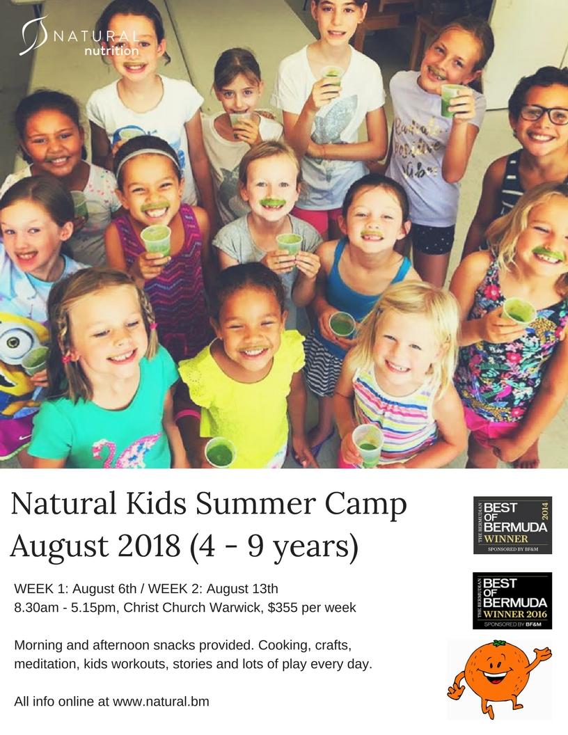 Natural Kids Summer Camp 2018 — Natural Nutrition