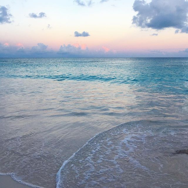 Friday night, here. magic hour. ✨ #magichour #bermuda #saltwatertherapy #submerge #euphoria #andbreathe #soulshine