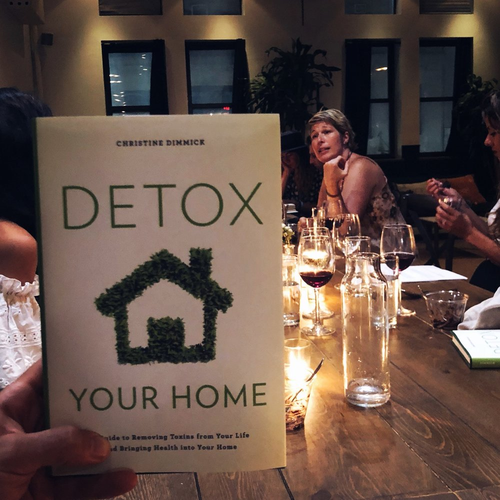 Detox Your Home discsussion at Habitas NYC - hosted by Get the People