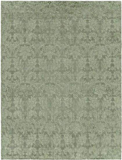 Rug #003742 Retail: $1,073.00 Sale: $751.00 Size: 4'x6' Color: Cyprus Hand Knotted Wool Made in India