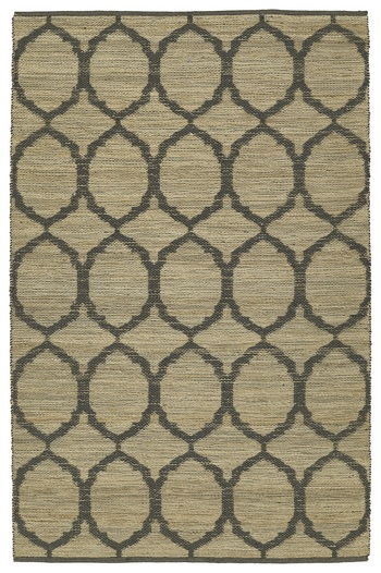 Rug #004995 Retail: $314.50 Sale: $220.00 Size: 4'x6' Color: Charcoal Made in India Jute