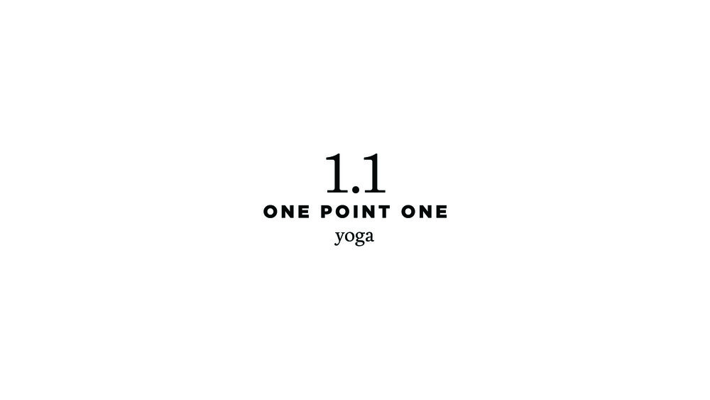 One Point One Yoga