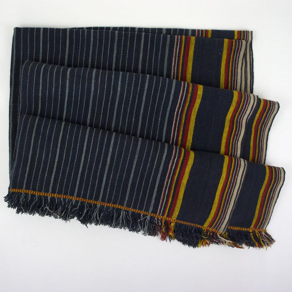 3622 Early 20th c. Vintage Sumba Cotton Textile from Kodi Region - 2.jpg